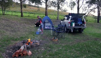queen mary falls caravan park unpowered sites