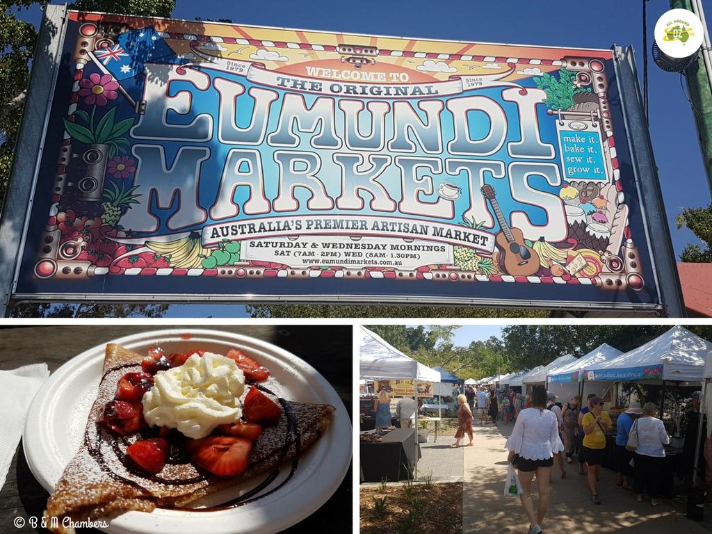 Things to do on the Sunshine Coast - Eumundi Markets