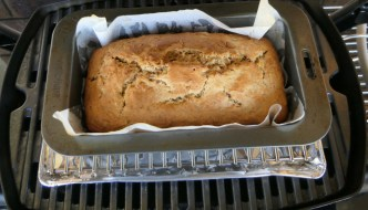 Banana Bread in the Weber Baby Q