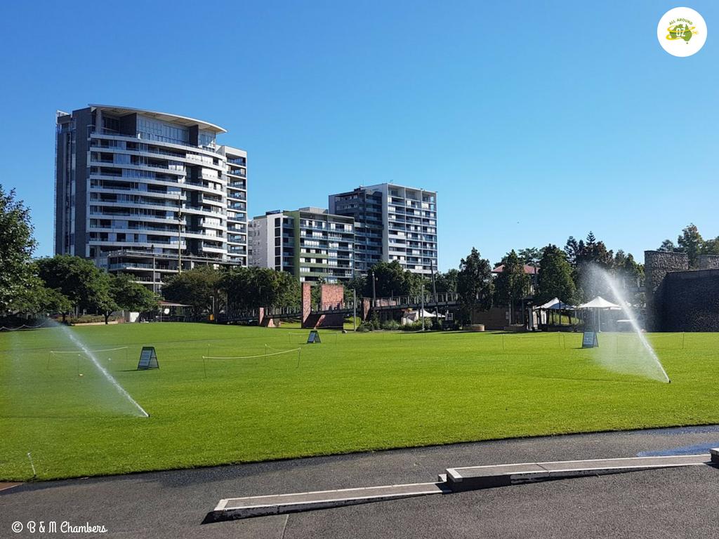 Roma Street Parklands Celebration Lawn