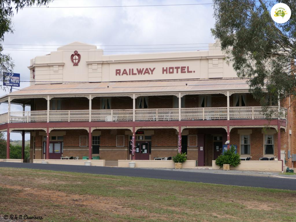 Kandos, Rylstone and Gulgong - Railway Hotel Kandos
