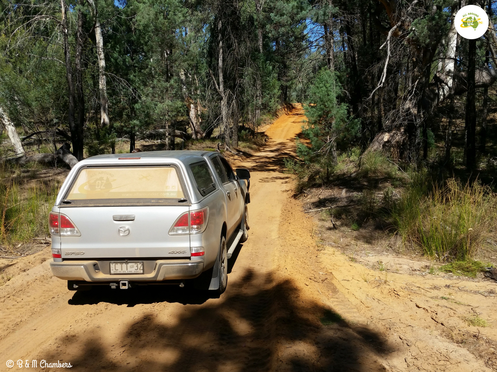 Exploring The Pilliga State Forest - Rough Dirt Road