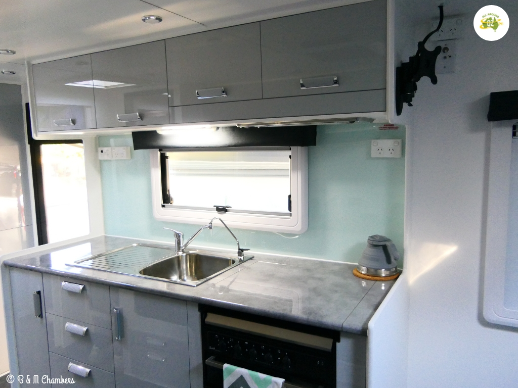 Why We Chose a NextGen Caravan - Kitchen