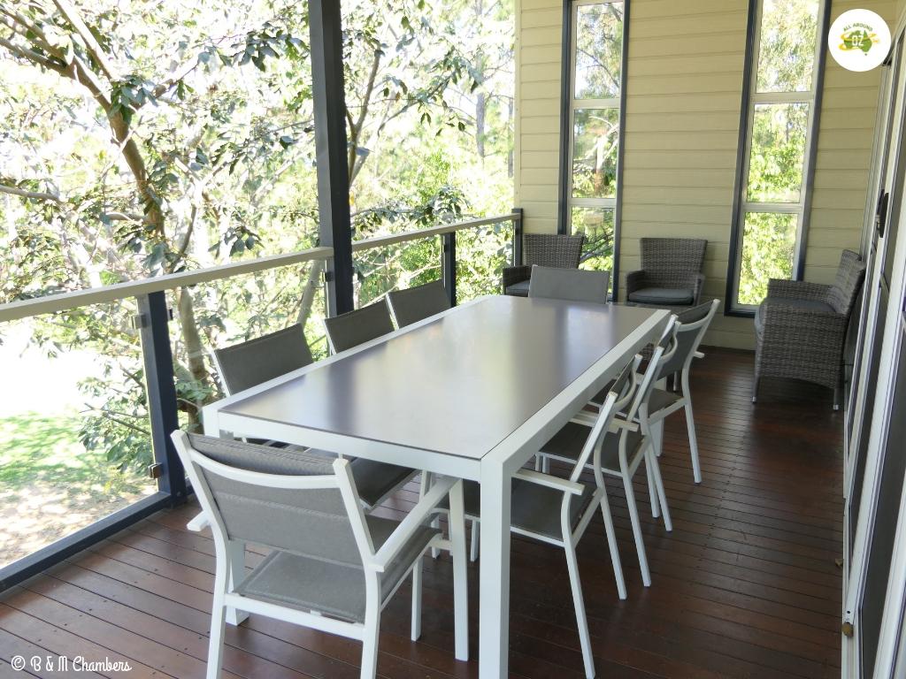 Ocean View Tourist Park - Function Room Deck