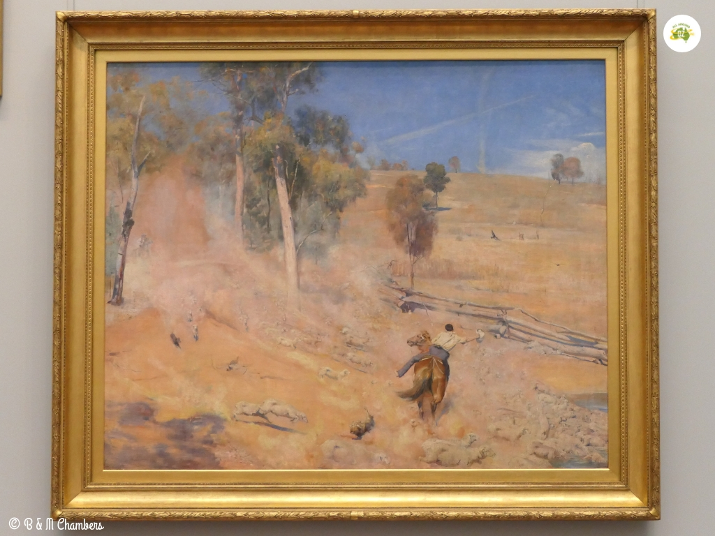 Adelaide in Two Days - Tom Roberts