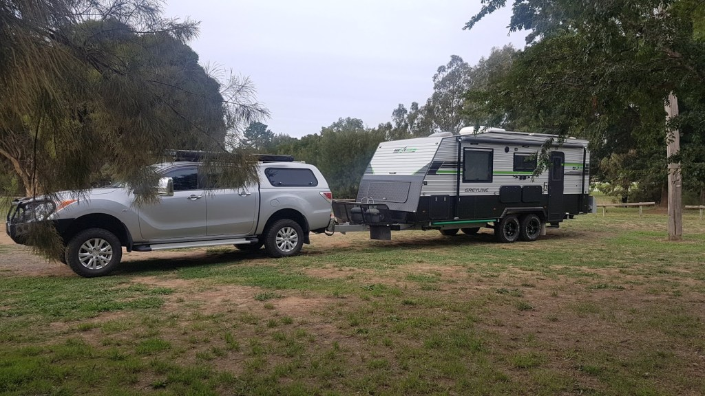 Free Camp at Wallendbeen, NSW
