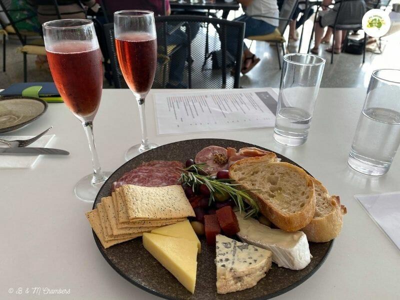 Sirromet Winery Tour - Cheese Platter