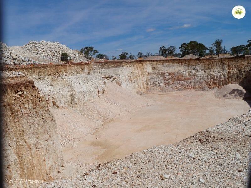 Lightning Ridge NSW - Open Cut Mine