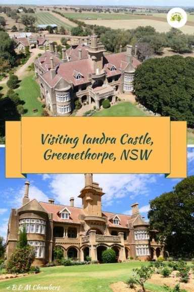 Visiting Iandra Castle, Greenethorpe NSW