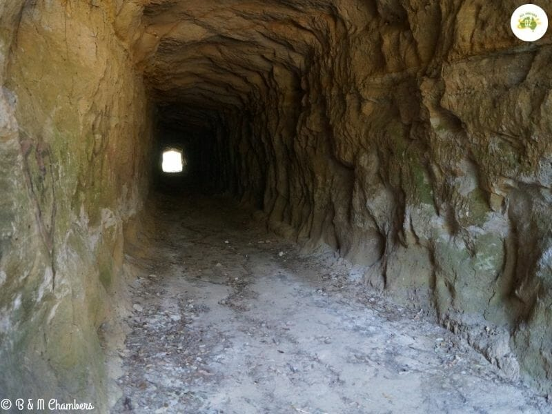Canungra, Queensland - Laheys Tramway Tunnel
