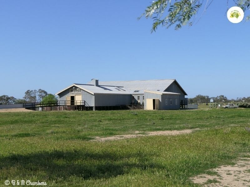 Woolshed at Shear Outback in Hay, NSW