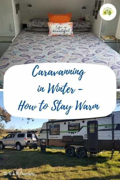 Caravanning in Winter - How to Stay Warm