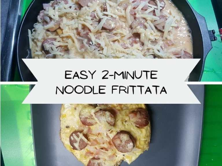 Easy 2-Minute Noodle Frittata