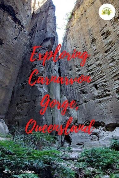 Exploring Carnarvon Gorge, Queensland