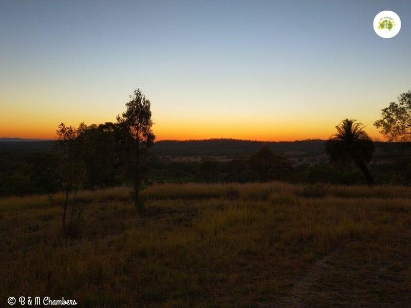 Sunrise from Sandstone Park