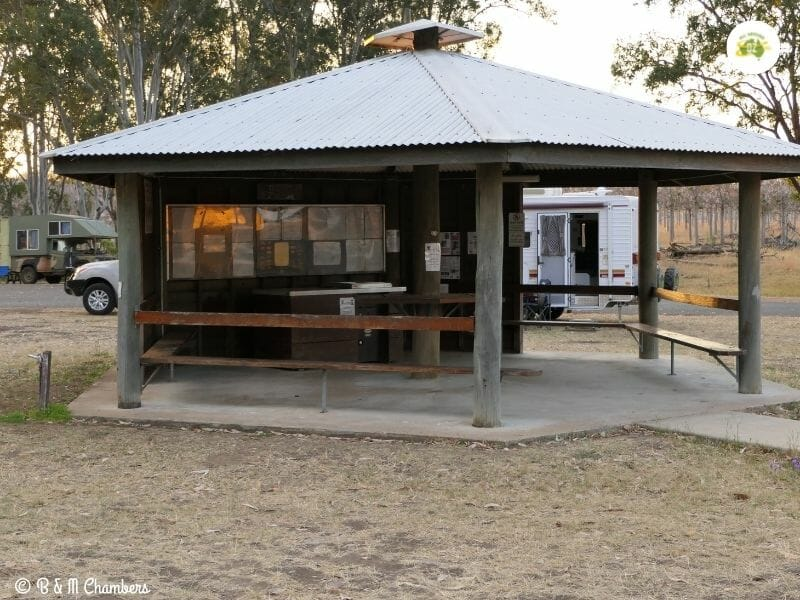 Free Camping with a BBQ area