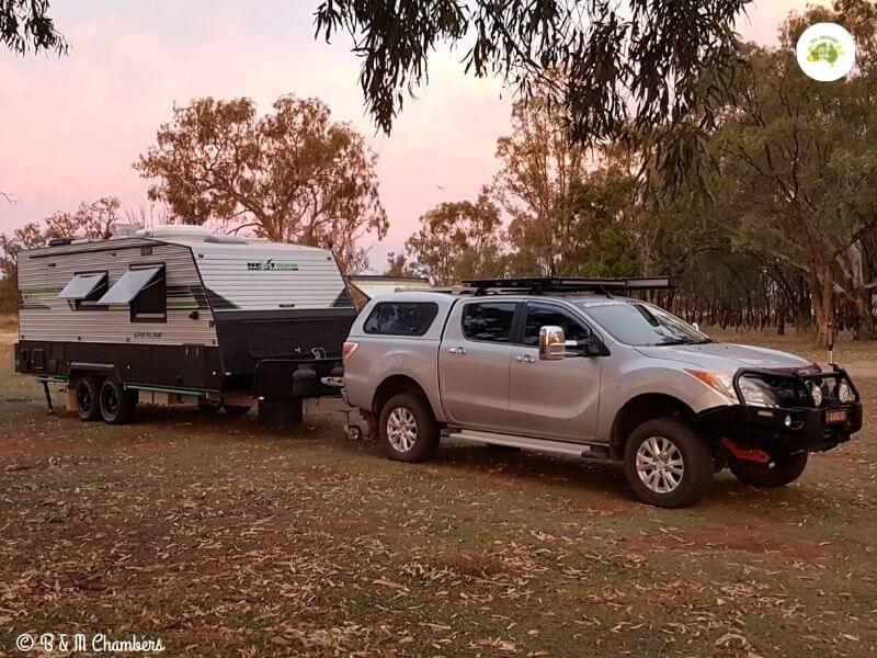 Free Camping at Gum Bend Lake, Condobolin