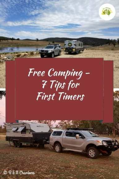 Free Camping - 7 Tips for First Timers