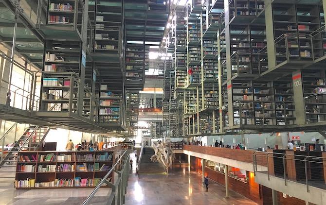 ヴァスコンセロス図書館(空中図書館)メキシコシティ4