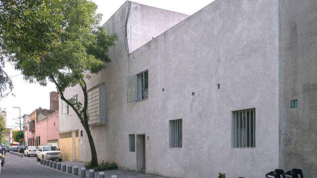 ルイスバラガン邸の外見