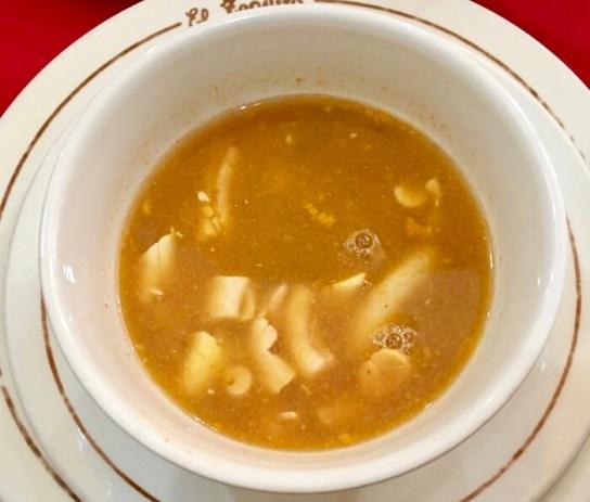 牛の脊髄のスープ