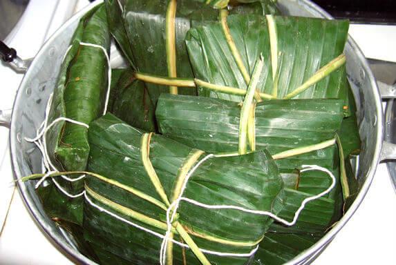 タマレス(バナナの皮)