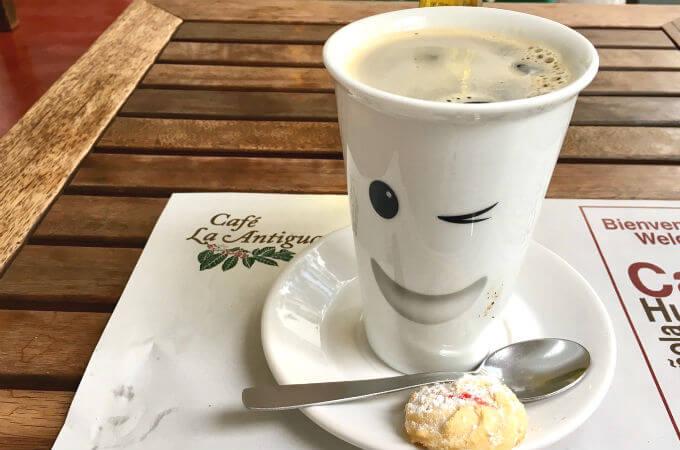 ラ・アンティグアのコーヒー