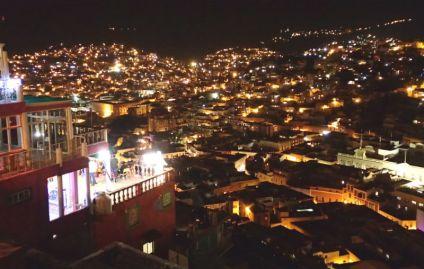 グアナファトの夜景