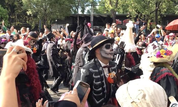メキシコシティの死者の日のパレード6
