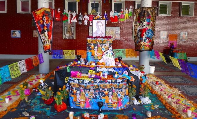 メキシコ死者の日の祭壇(オフレンダ)6