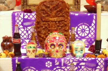 メキシコ死者の日の祭壇(オフレンダ)7