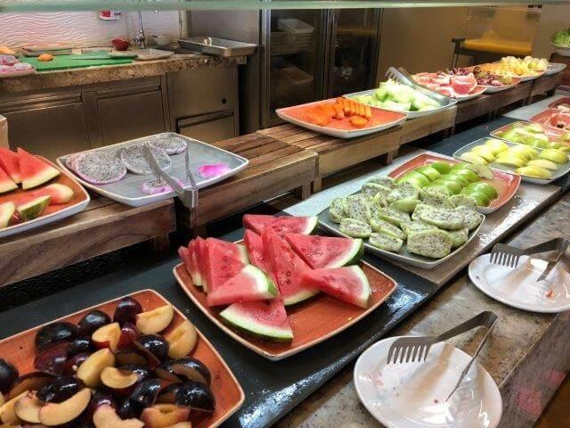 ハイアットジーヴァ朝食ビュッフェ@El Mercado9