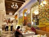 カンクンのホテル(ハイアットジラーラHyatt Zilala)レストラン