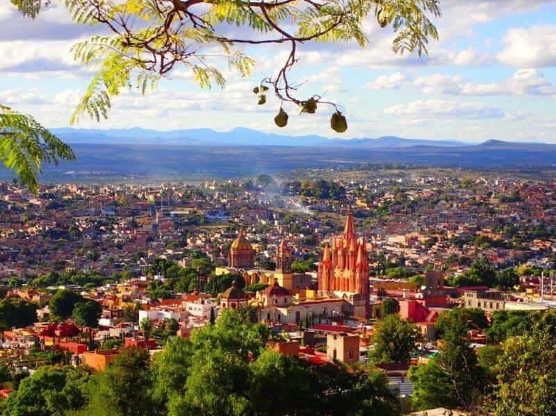 サンミゲルデアジェンデの景色