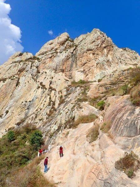 ペニャデベルナルの山登り