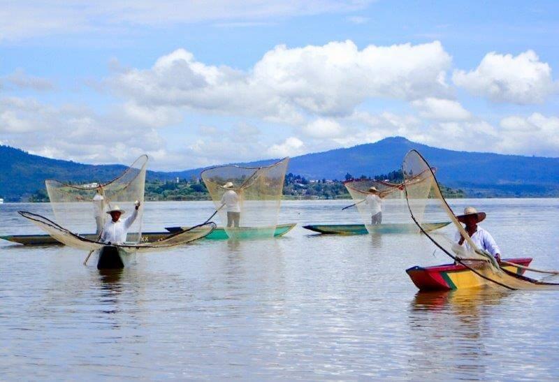 パツクアロの伝統漁(ハニツィオ)