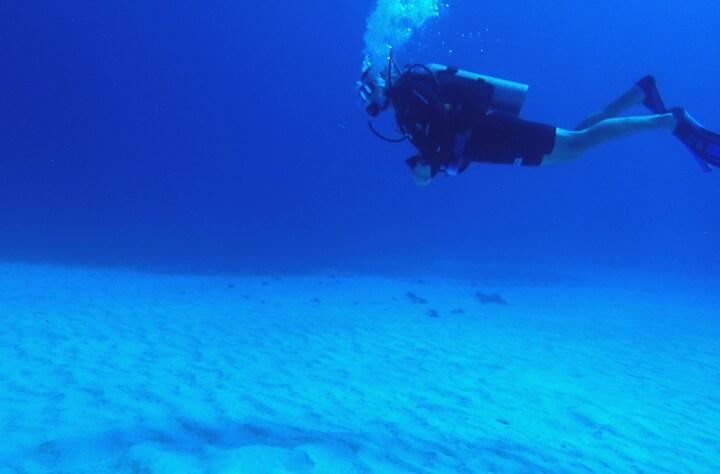 コスメル島ダイビング 砂地