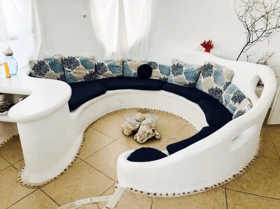 メキシコ、イスラムへーレス島のシェルハウス(貝殻の家)21