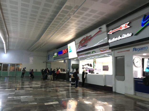 メキシコシティの北バスターミナル2