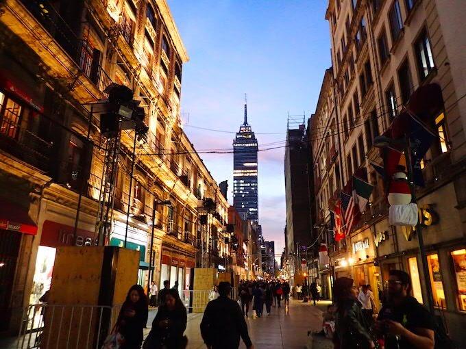メキシコシティの歴史地区