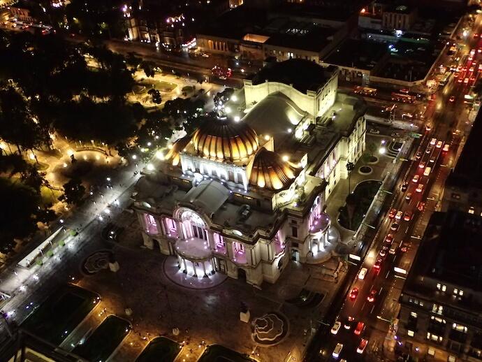 メキシコシティ ラテンアメリカタワー1 ベジャスアルテス