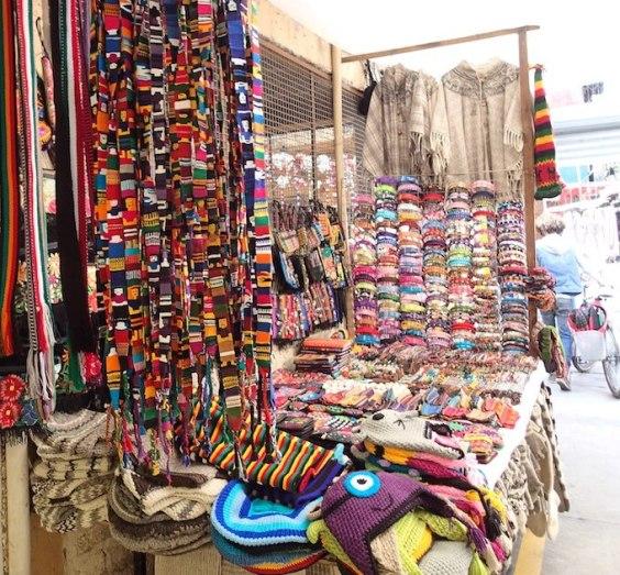 市場の小さい店