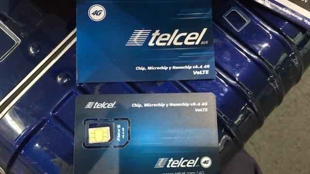 メキシコのSIMカード(TELCEL)5