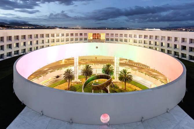 メキシコシティ空港ターミナル2のホテル1