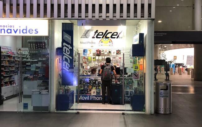 メキシコシティ空港(TELCELの場所)1