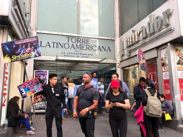 ラテンアメリカタワーの入り口2