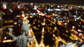 ラテンアメリカタワーの夜景(メキシコシティ)2