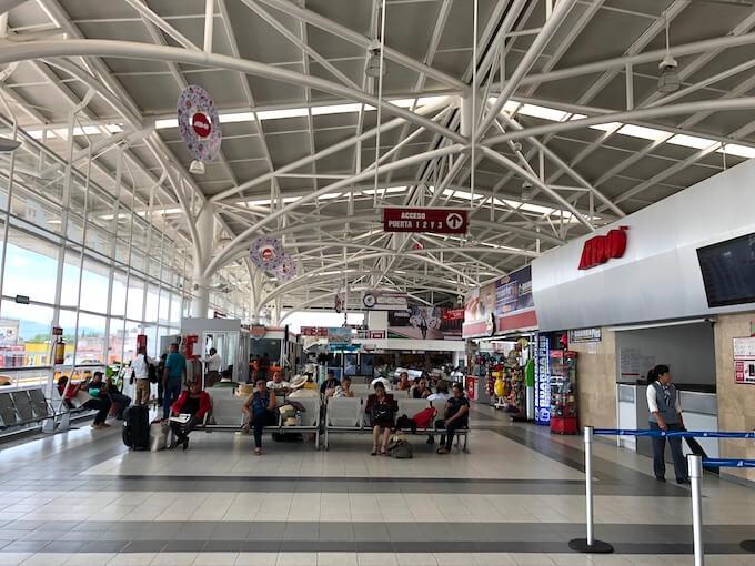 オアハカのADOバスターミナルの内部3