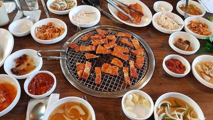 メキシコで韓国風焼肉