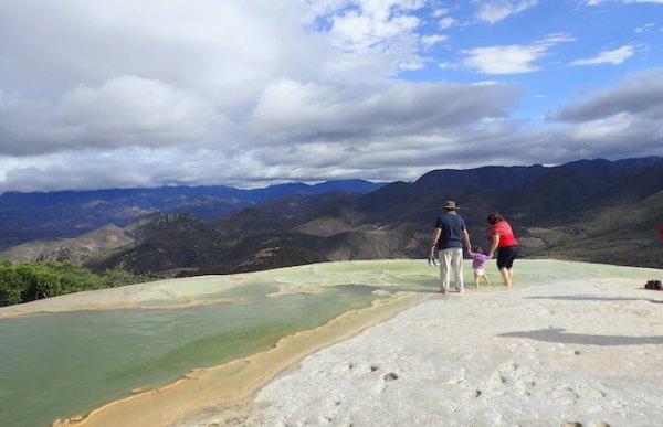 イエルベエルアグアの天然石灰プール6